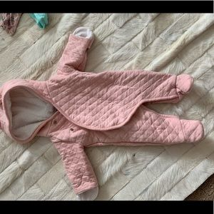 Super soft baby bunting